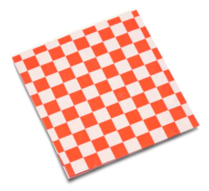 Papier Damier (Checkered Basket Paper) *12 x 12 in*