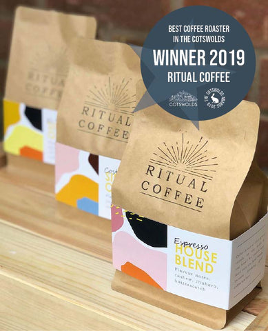 Ritual Coffee Voted Best Coffee Roaster in the Cotswolds 2019