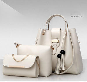 3 Pcs / 1 Set 2020 New Design Women Handbag