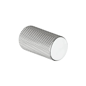 Knurled Chrome Cupboard Knob