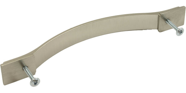 Brushed Nickel D Handle