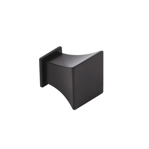 Matt Black Cupboard Knob