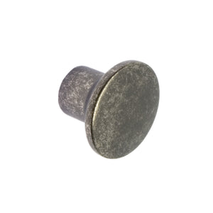 Dappled Pewter Finish Cupboard Knob
