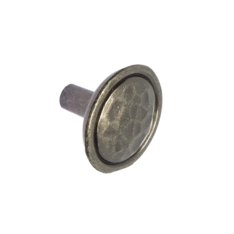 Mottled Pewter Finish Knob