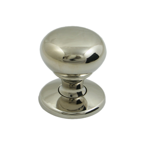 Mayberry Polished Nickel Knob