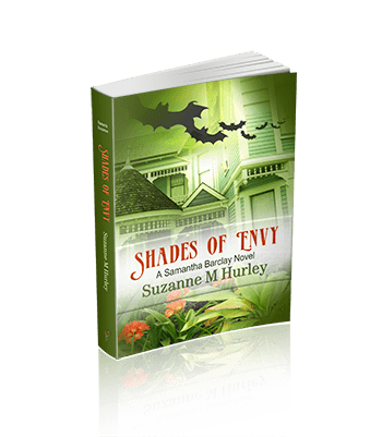 Shades of Envy (A Samantha Barclay Mystery Book 4)