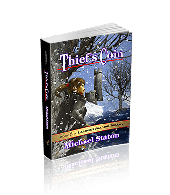 Thief's Coin (Larenia's Shadow Trilogy Book 2)