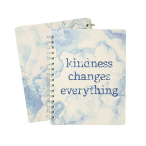 Kindness Changes Everything Spiral Notebook