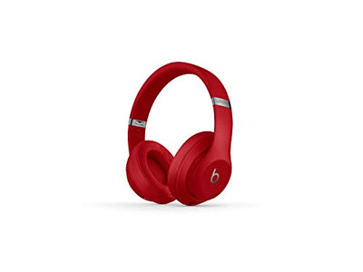 Beats Studio3 Wireless Over-Ear Noise Cancelling Headphones - Red