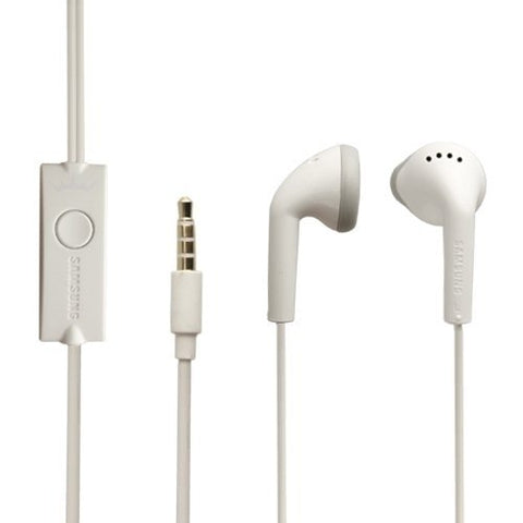 Original Samsung Headset EHS61ASFWE White Headphones Earphones Galaxy Fame S6810
