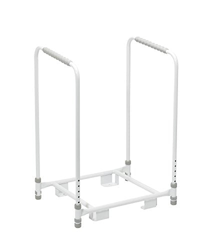 ##BRAND## Stand and Frame for Porta Potti 165 Flushing Toilet (Eligible for VAT Relief in the UK) Support Handles for Portable Bedside Toilet, Height Adjustable Potty, Elderly, Disabled, Camping