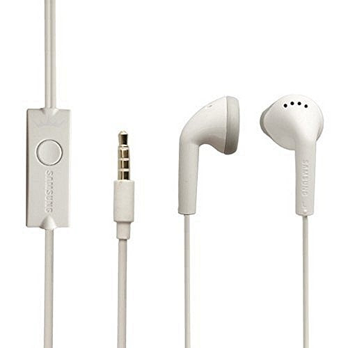 Original Headset EHS61 White in Ear Headphones for Samsung GT-S5830 Galaxy Ace | GT-S5660 Galaxy Gio | Galaxy GT-i9100 S2 | Galaxy Note GT-N7000 | Galaxy Nexus GT-i9250 | Galaxy R GT-I9103 | Galaxy GT-I9300 S3 | Galaxy S3 Mini GT-i8190 | Galaxy GT-i9500 S