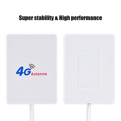 Vbestlife, 28dbi High Gain 4G / 3G LTE Signal Amplifier Antenna with 2.9m Cable for Mobile Router/HuaWei E398 / E3276 / E392 (TS9 interface)