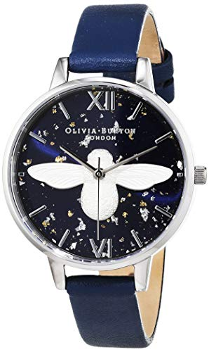 Olivia Burton Womens Analogue Quartz Watch with Leather Strap OB16GD04