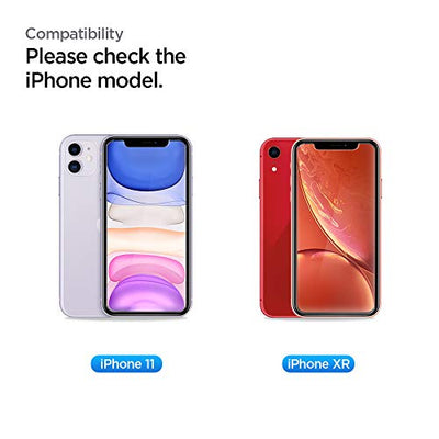 Spigen, 2Pack, iPhone 11 Screen Protector/iPhone XR Screen Protector (6.1), AlignMaster, Auto-Align Technology, Case Friendly, Face ID Compatible, iPhone 11 Tempered Glass/XR Tempered Glass