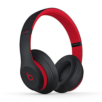 Beats Studio3 Wireless Over-Ear Noise Cancelling Headphones - The Beats Decade Collection - Defiant Black-Red