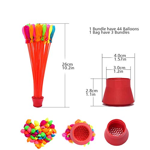 640 Pack 5 Bags 640 Pack Water Balloons Self Sealing Easy /& Fast Filling Water Bombs Summer Splash Fun Water Fight Game for Kid /& Adult