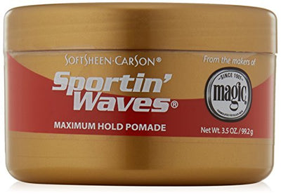 Sportin Waves Maximum Hold Gel Pomade 99.2 g