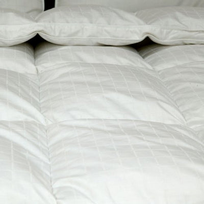 Viceroybedding Super King (260cm x 220cm) All Season (4.5 tog & 9 tog) PURE 100% Hungarian Goose Down Duvet