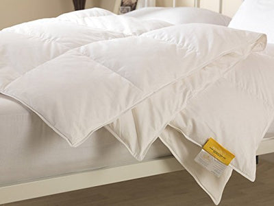 Lancashire Bedding Premium Comfort 13.5 Tog 100% Goose Down Duvet Quilt - Perfect for Autumn & Winter! - Super King Size