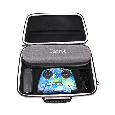 RC GearPro Hard Shell Carrying Case Waterproof Travel Stroage Shoulder Bag for Parrot Anafi Drone, Remote Controller and Other Accessories