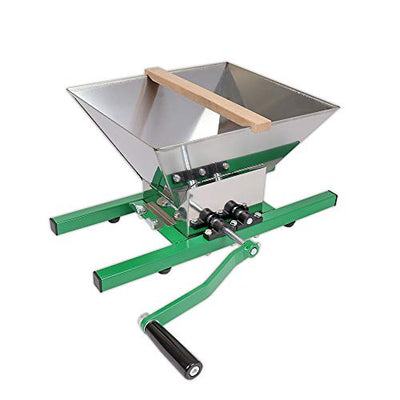 Wido 6/12/18 Litre Fruit Press Crusher Wine Making Tool Grape Cider Pear Apple Juice (7 Litre Fruit Crusher)