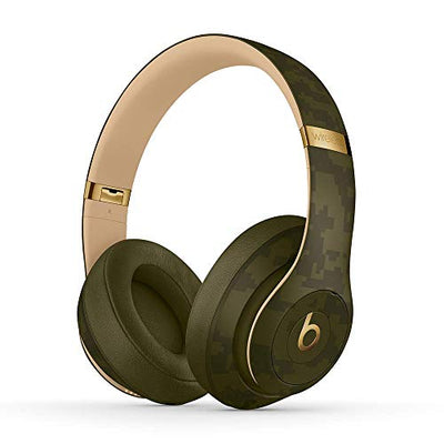 Beats Studio3 Wireless Noise Cancelling Headphones - Beats Camo Collection - Forest Green