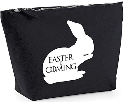 Hippowarehouse Easter is coming printed make up cosmetic wash bag 18x19x9cm