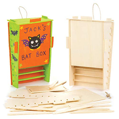 Wooden Bat Box Kits (Pack of 2)