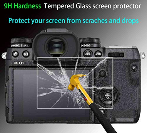 3 Pack A7R Screen Protector Appliable for Sony Alpha A7R A7 A7S Digital Camera /& Hot Shoe Cover,ULBTER 0.3mm 9H Hardness Tempered Glass Flim Anti-Scrach Anti-Fingerprint Anti-Bubble Anti-Dust