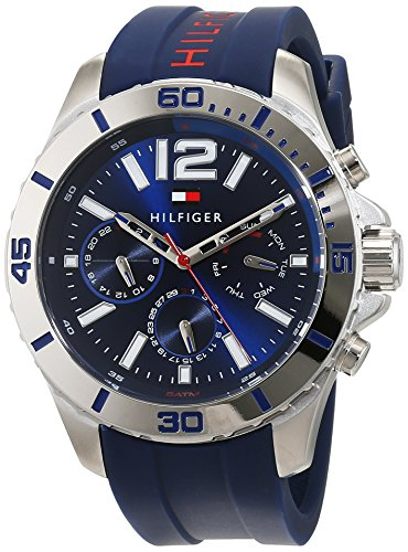 Tommy Hilfiger Men's Watch Analogue Quartz Silicone 1791142