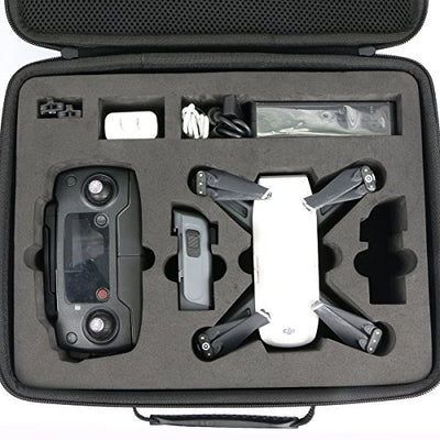 Hard Travel Case Handbag for DJI Spark Drone + Accessory by co2CREA