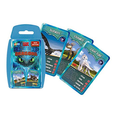 Top Trumps Dragons (Including Dreamworks How To Train Your Dragon The Hidden World)