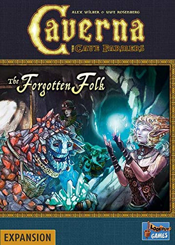 Lookout Spiele LK0103 Caverna: The Forgotten Folk Expansion, Mixed Colours
