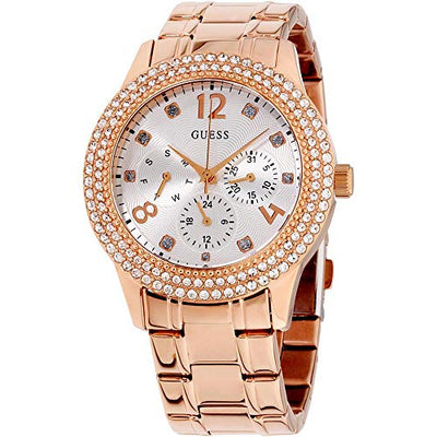 Guess Womens Analogue Quartz Watch with Stainless Steel Strap W1097L3