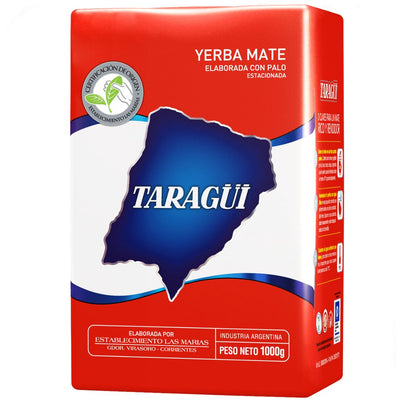 Yerba Mate 1 Kilogram Taragui Roja With Stems