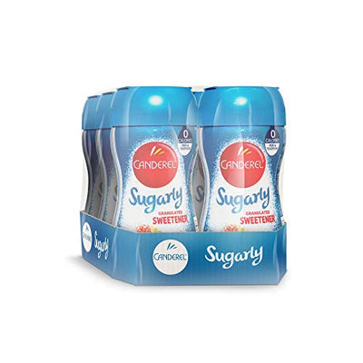 Canderel® Sugarly Crunchy Sweetener 275g Jar (Pack of 6)