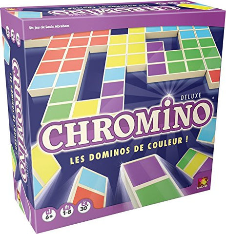 Asmodee Asmodée – Chro05 – Thinking Game – Chromino Deluxe