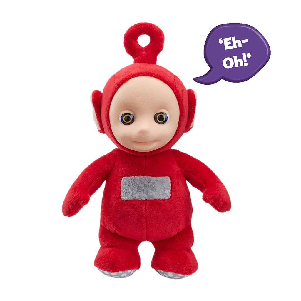 Teletubbies 06107 Cbeebies Talking Po Soft Toy, Red