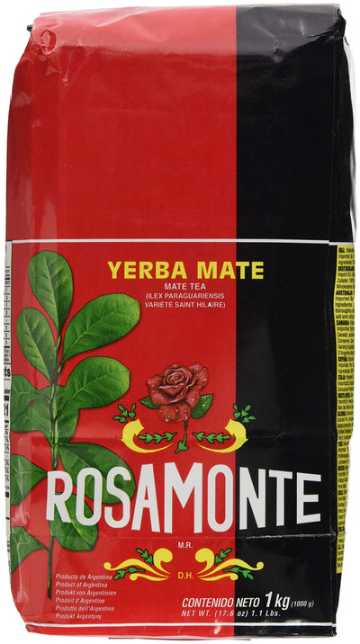 Yerba Mate Rosamonte 1kg (With Stems) [Misc.]
