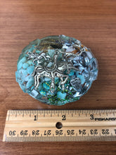Load image into Gallery viewer, Amazonite Rose Orgonite EMF Protection/Chakra healing