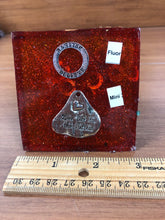 Load image into Gallery viewer, Mini Flourite Orgonite EMF Protection/Chakra Healing Pyramid
