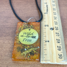 Load image into Gallery viewer, Tiger Eye Orgonite EMF Protection/Chakra Healing Pendant