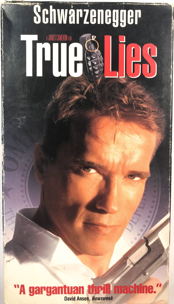 True Lies on VHS