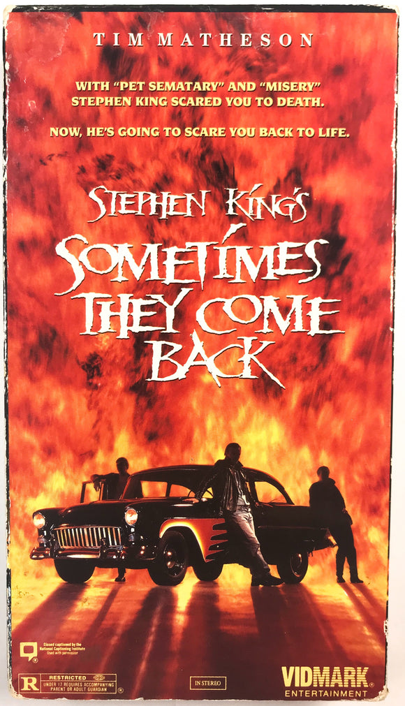 Stephen King's Sometimes They Come Back on VHS