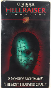 Hellraiser Bloodline on VHS