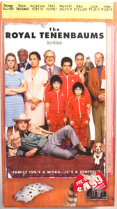 The Royal Tenenbaums on VHS