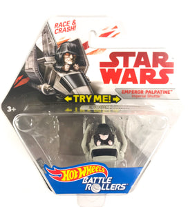 Star Wars Hot Wheels Battle Emperor Palpatine