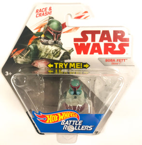 Star Wars Hot Wheels Battle Rollers Boba Fett