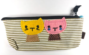 Cat Friends Pencil Case